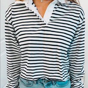 (RARE)Brandy Melville collared shirt
